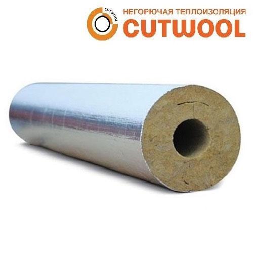 Цилиндры минераловатные CUTWOOL CL-AL с покрытием из алюминиевой армированной фольги (Г1)