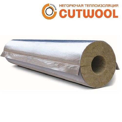 Цилиндры минераловатные CUTWOOL CL-Protect с покрытием из алюминиевой армированной фольги (НГ)