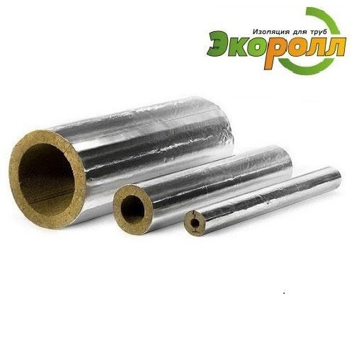 Цилиндры минераловатные ЭКОРОЛЛ Ф с покрытием из алюминиевой фольги (НГ)