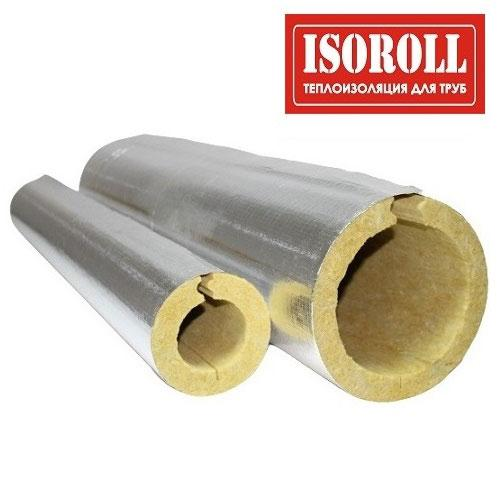 Цилиндры из минеральной ваты ISOROLL с покрытием из алюминиевой армированной фольги (Г1)